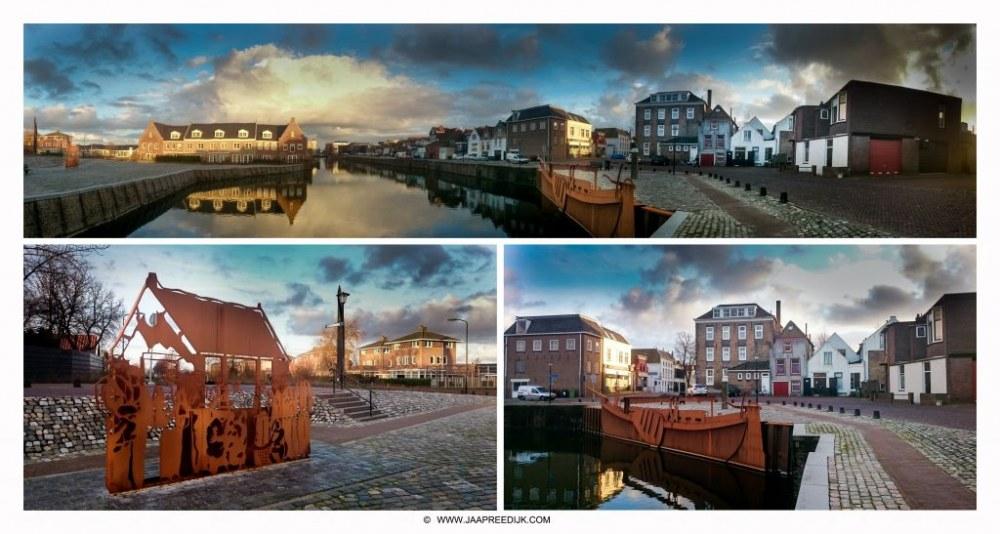 MIJN ACHTERTUIN… De Kaai van Sommelsdijk