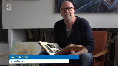 Interview Radio Rijnmond over het kunstwerk Verzetspaneel Klaaswaal