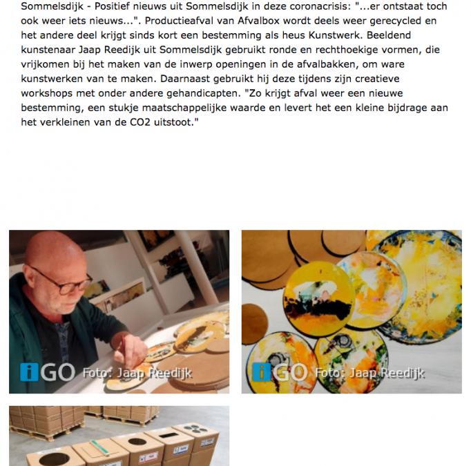 IGO Kunst recycling